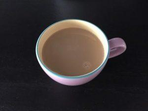 caffè con latte di riso