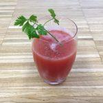 estratto pomodoro e zenzero, un aperitivo alternativo