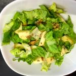insalata mela e noci: ricetta facile e veloce