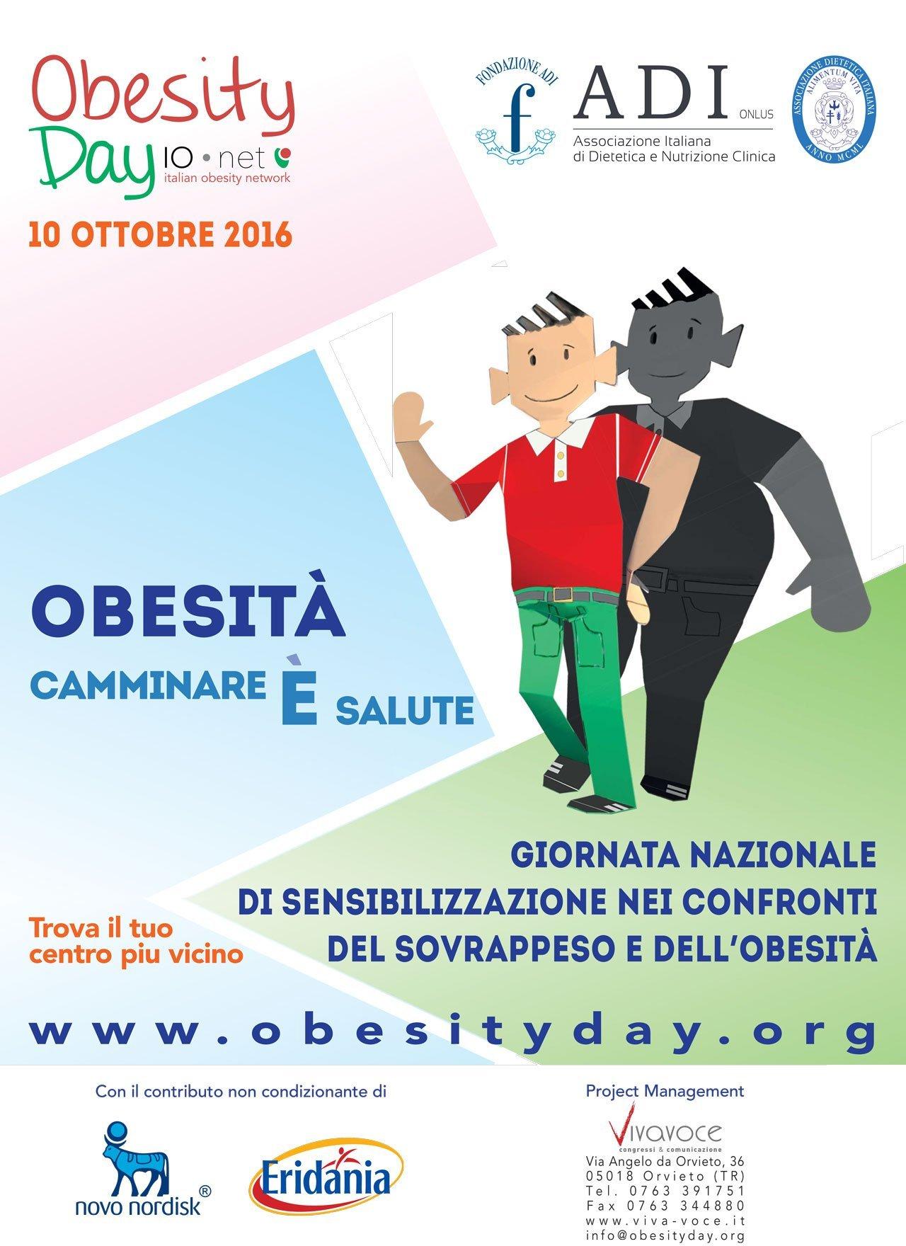 locandina obesity day 2016