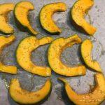 fette zucca nel forno